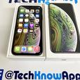 iPhone Xs 64GB unlocked to all Space Grey Boxed 329.99