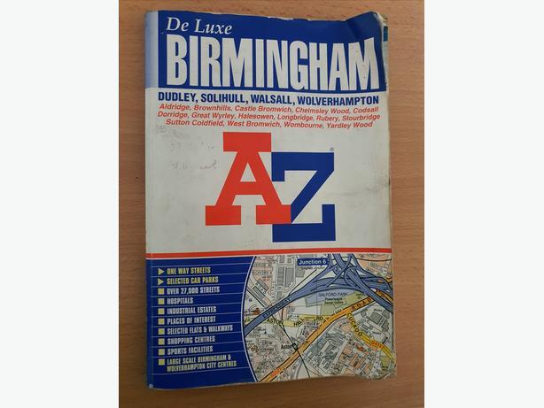 Birmingham A to Z Street Map