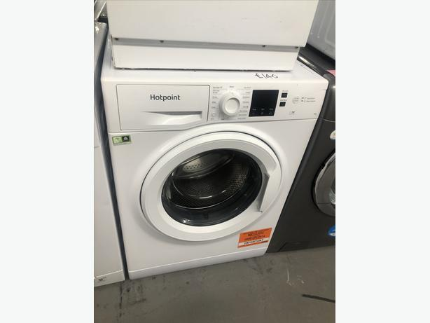 HOTPOINT 7KG WASHING MACHINE - WHITE - PLANET 🌎 APPLIANCE