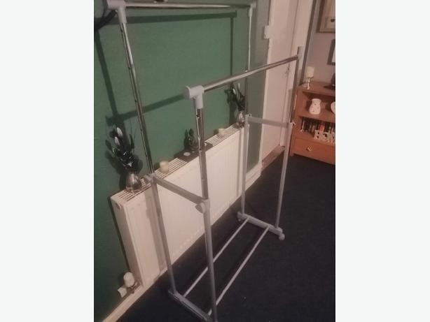 double clothes rail - delivery - £10 -