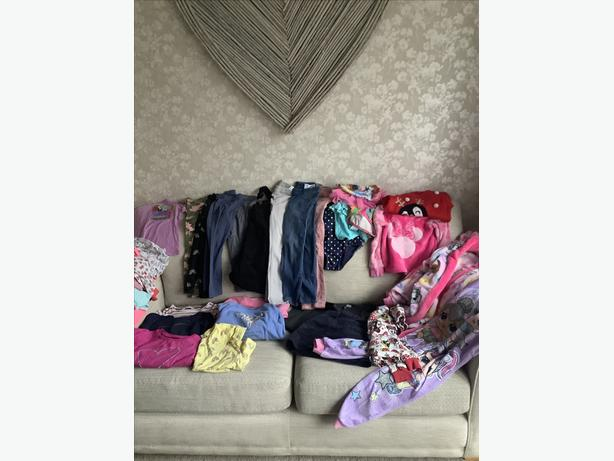 Girls aged 5 large clothing bundle only £10