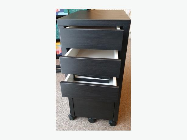 IKEA Chest of drawers black/brown colour
