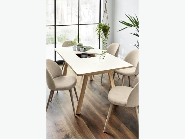 NEXT 6 seater storage dining table