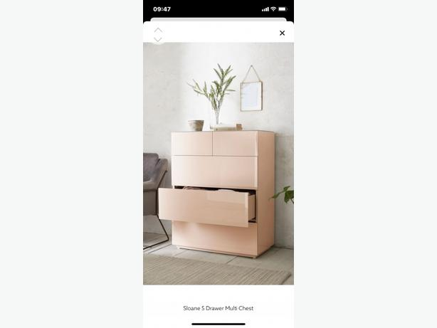 NEXT CHEST OF DRAWERS-SLOANE collection