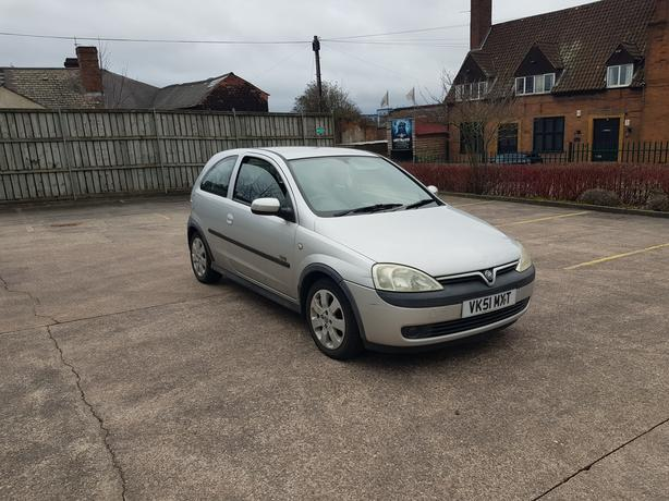 Automatic Corsa 1.2, long mot very low mileage for year, drives very good