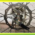 26 inch Bike wheel set. With 8 speed cogs
