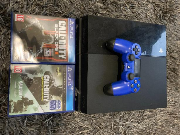 ps4 500gb woth 2 games