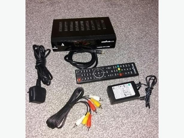 h2h Combo HD Receiver set top box DVS2