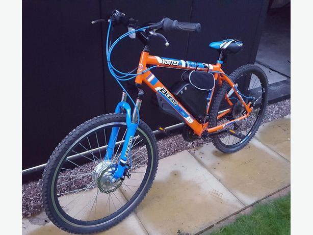 custom electric bike 250w like new