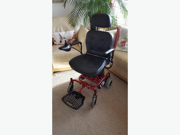 Electric Wheelchair - As New - Can Deliver*
