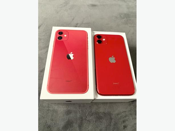 iPhone 11 64Gb unlocked to all networks Red Boxed