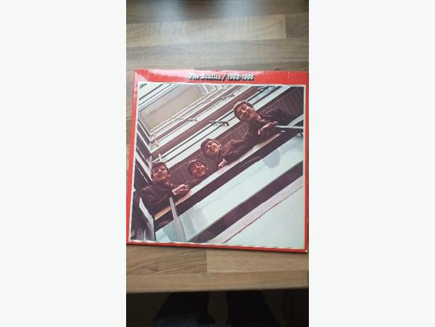 The Beatles 1962-1966 red all the hits 2x Lps