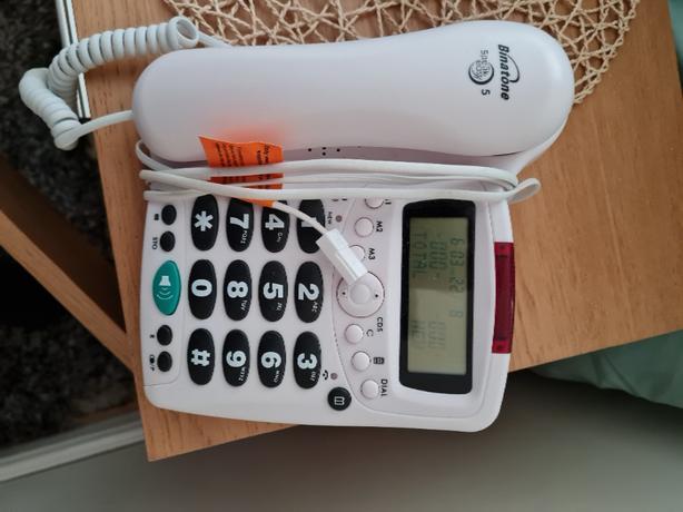 large key telephone
