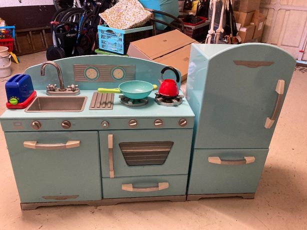 Child's two part kitchen