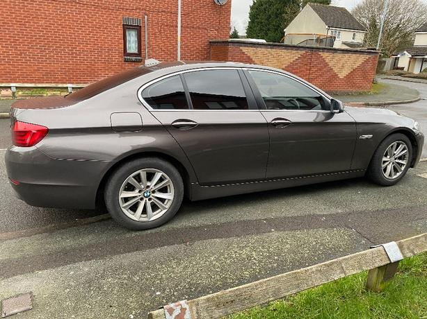 BMW 5 Series Efficient Dynamics 2012