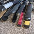 babyliss hair straighteners £10 each.