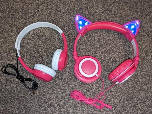 mimoday and accelerate cat led children headphones