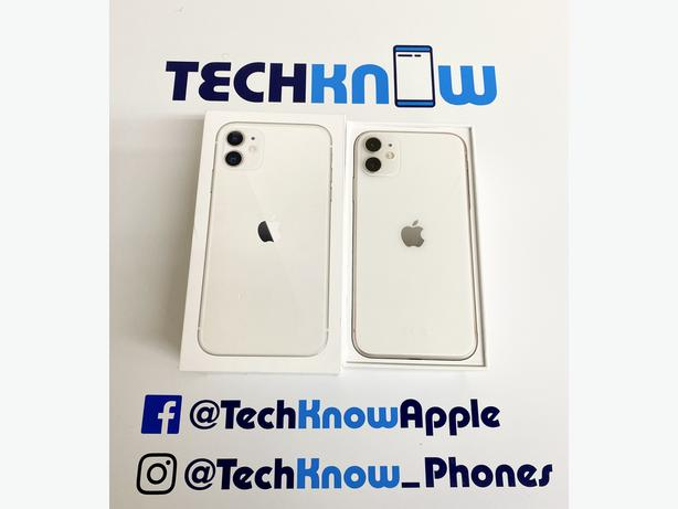 Iphone 11 64GB unlocked to all networks White Boxed + Warranty