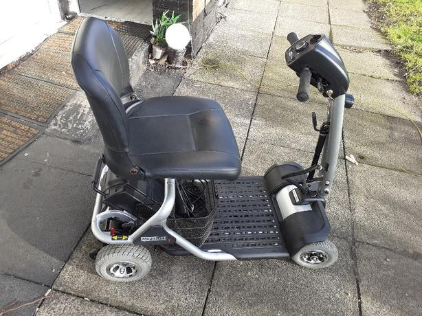 mobility scooter 4mph