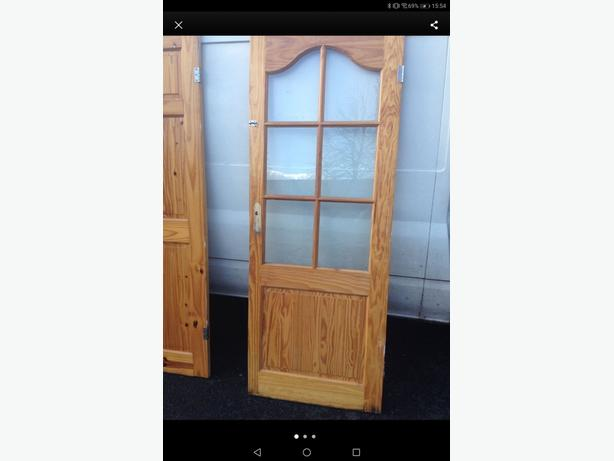 4x pine interior doors £20 each   can deliver for fuel