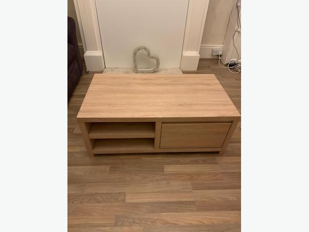 next coffee table / tv unit