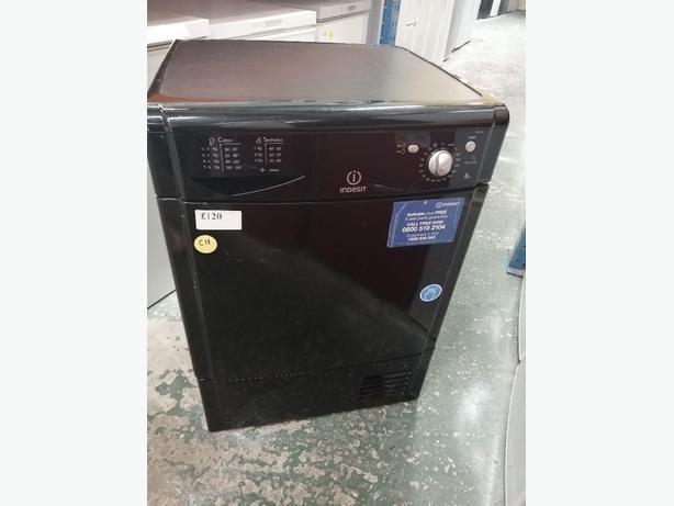 Indesit 8 kg condenser dryer with warranty at Recyk Appliances