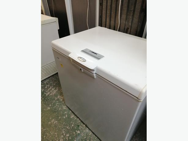 Whirlpool chest freezer white with warranty at Recyk Appliances