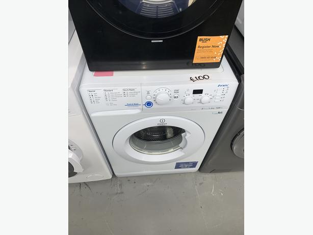 PLANET APPLIANCE - 6KG INDESIT WASHER WASHING MACHINE IN WHITE