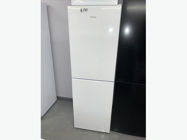 PLANET APPLIANCE - AMICA FRIDGE FREEZER IN WHITE