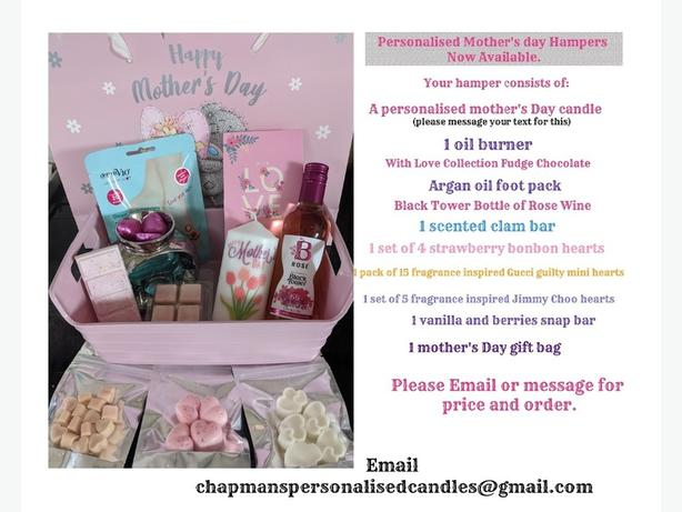 personalised Mother's day Hampers