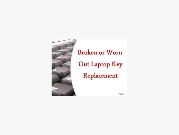 Laptop keyboards replaced