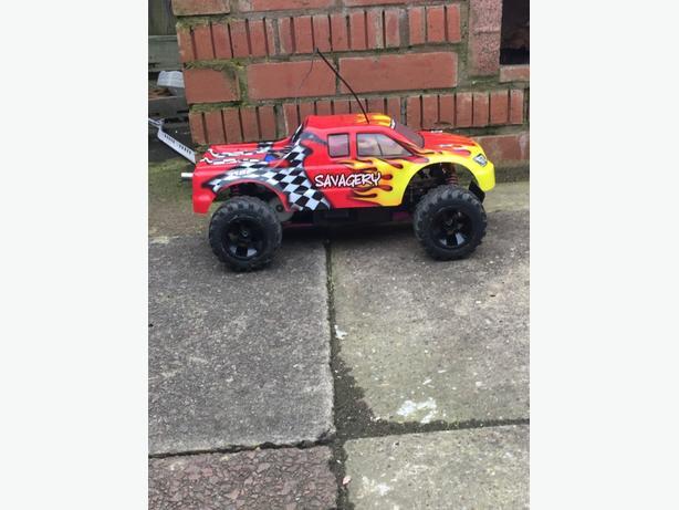 schumacher 1/10 nitro car 3 gears