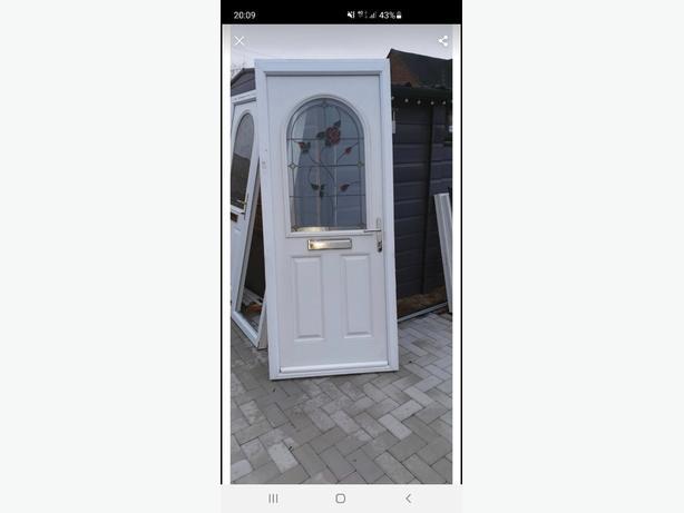 White Composite Door
