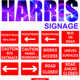 Harris Signage