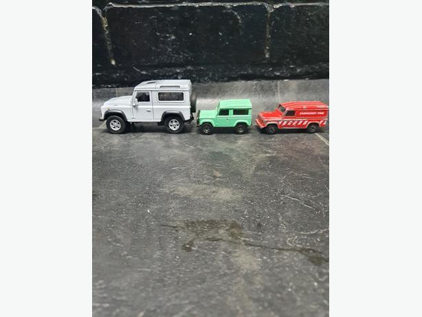 landrover model cars