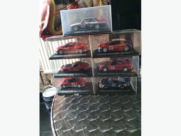 7 model cars
