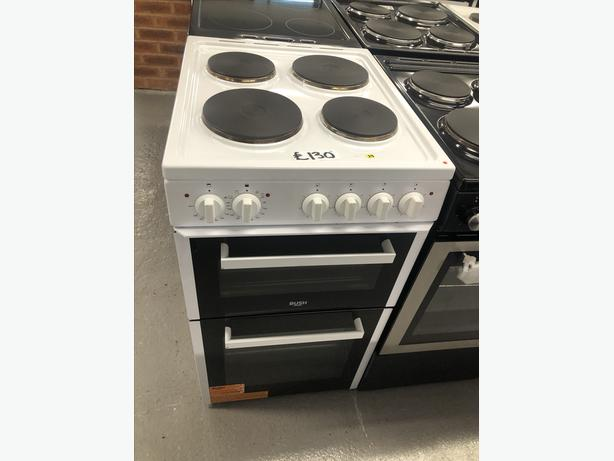 BUSH 50CM ELECTRIC COOKER/ FREESTANDING COOKER