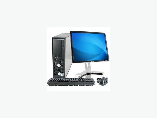 Dell PC Computer Intel processor Latest Windows 10 Microsoft Office MONITOR