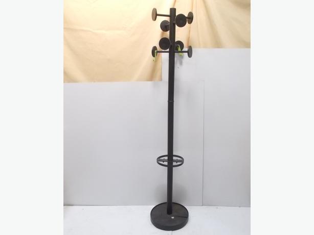 Coat Stand Black 175cm
