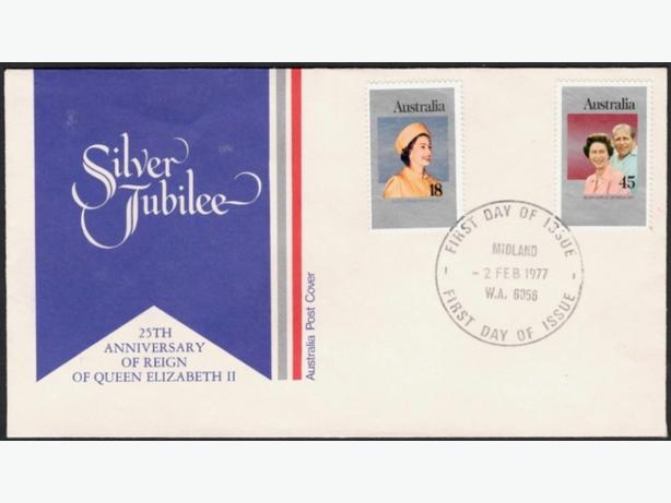 1977 Australia Silver Jubile FDI FDC's