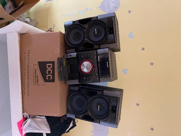 sony genezi mini hi-fi cd player stereo