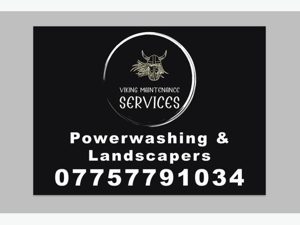 viking powerwashing and landscaping