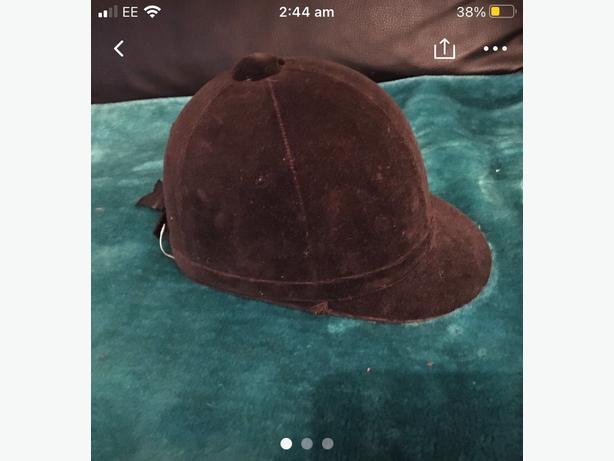 horse ridding hat