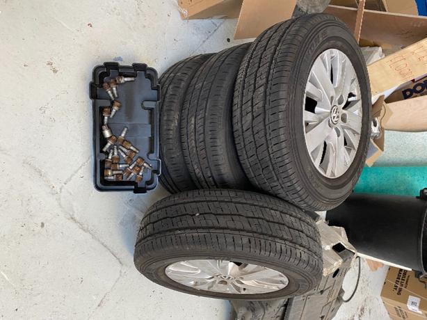 """Genuine T5.1 17"""" Highline alloy wheels"""