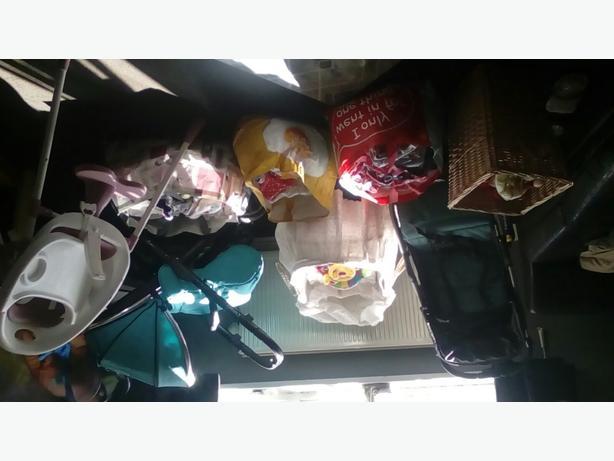 Bundle of baby stuff