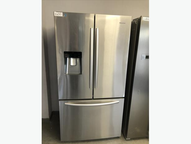 🇬🇧🇬🇧 REDUCED FROM £450 - HISENSE AMERICAN STYLE FRIDGE FREEZER 🇬🇧🇬🇧
