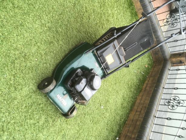 hayter hawk petrol mower