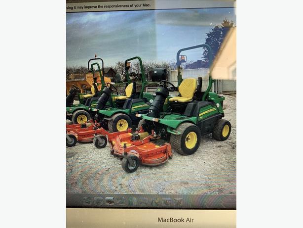wanted diesel lawn mower
