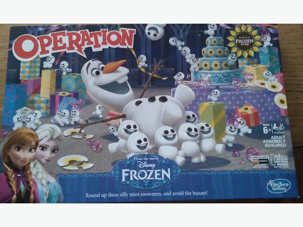 frozen operition