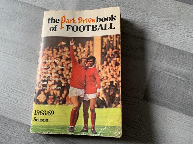 Park drive book of football 1968/69 season by William luscombe